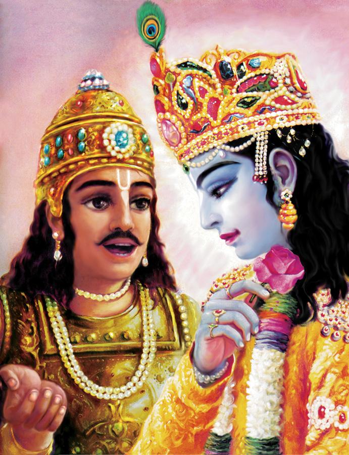 The Story Of Krishna Arjuna And The Dove Sai Balsanskaar