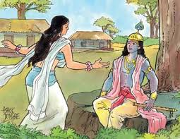 krishna and draupadi