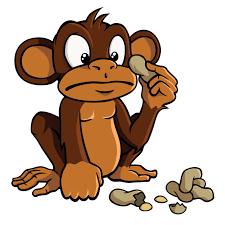 monkey-and-peanut